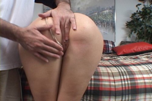 Spank and fingered